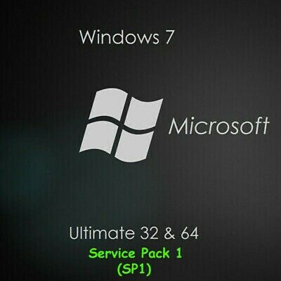 Microsoft Windows 7 Ultimate SP1 Full Version 32/64bit Lifetime Activation code.