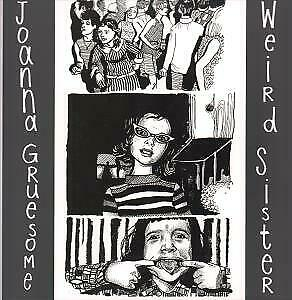 JOANNA GRUESOME Weird Sister LP VINYL 10 Track Limited Edition Red/black Vinyl