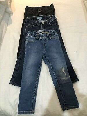 Preowned 3 X Baby Gap Jeans Skinny & Regular Fit Age 3 Years