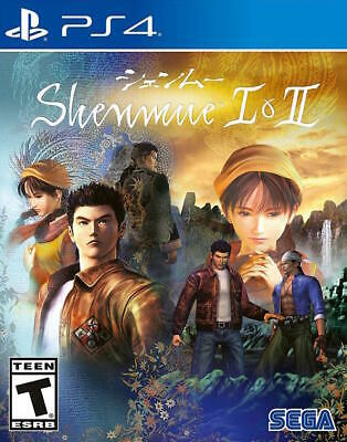 Shenmue I & II USED SEALED (Sony PlayStation 4, 2018) PS4 1 2