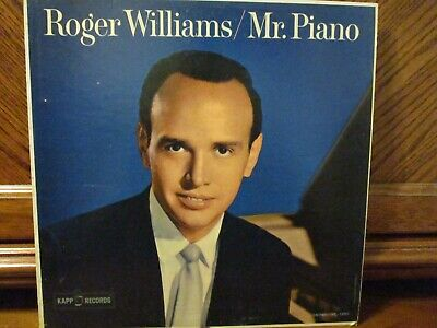Roger Williams Lot of Four Kapp Long Playing Records in Various Conditions