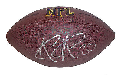 Miami Dolphins NATE ALLEN Raiders Eagles SIGNED Autographed NFL FOOTBALL Proof