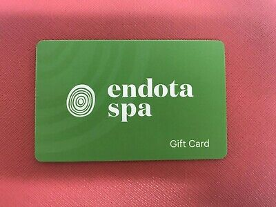 Endota spa Gift card $100