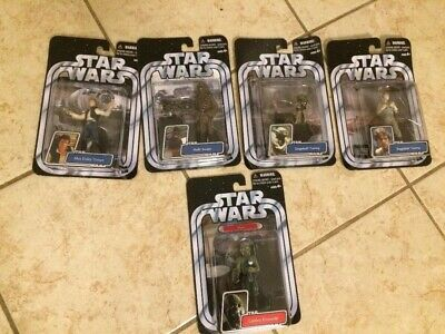 Lot of 2004 Star Wars Collection A New Hope, Empire Strikes Back Action Figs