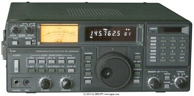 ICOM IC-R7000 RECEIVER: Multi-mode covers LF thru UHF up to 2.0 GHz (see manual)