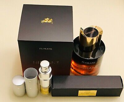Nishane FLORANE 12ml Demi Extrait de Parfum Spray sample in LUXE ATOMIZER LATEST