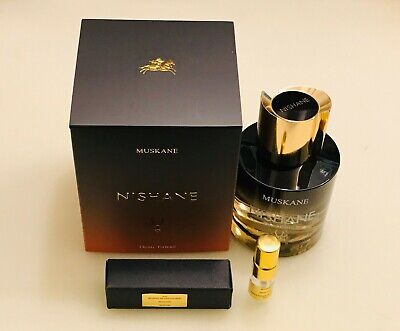 Nishane MUSKANE 2ml Demi Extrait de Parfum Spray sample LUXE NICHE - LATEST