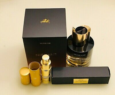 Nishane MUSKANE 12ml Demi Extrait de Parfum Spray sample in LUXE ATOMIZER LATEST