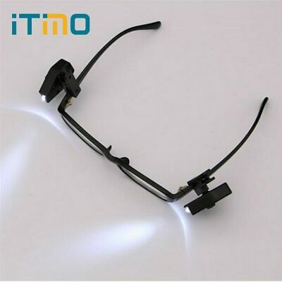 iTimo 2pcs Flexible Book Reading Lights Night Light For Eyeglass and Tools Mi…