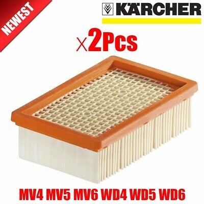 2Pcs/lot KARCHER  Filter for KARCHER MV4 MV5 MV6 WD4 WD5 WD6 wet&dry Vacuum C…