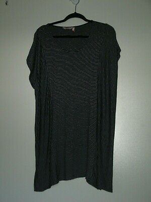 Womens Size 22 Millers Navy/White Stripe Stretch Top (Ph22-103)