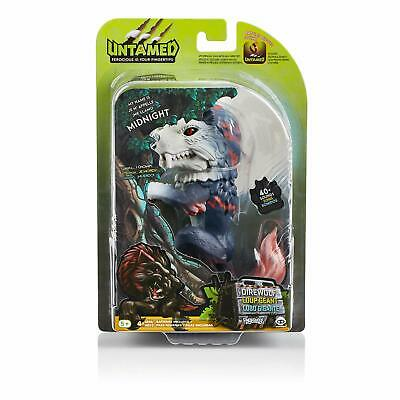 Untamed Dire Wolf by Fingerlings – Midnight - 40 plus sounds by   woWwee