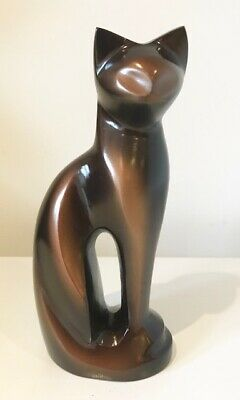 Tigger, Pet Memorial Cremation Ashes Urn, Cat, Bronze Brown 22cm, 12kg