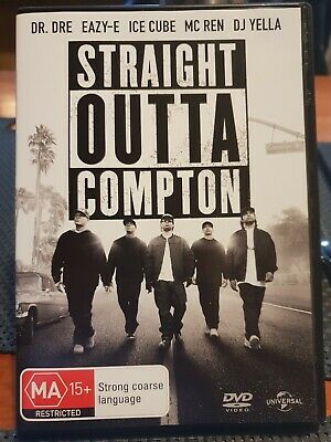 Straight Outta Compton (DVD, 2016) VGC - FREE POST