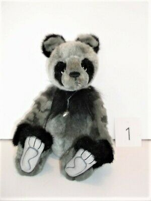 "Charlie Bear Denny,12"" tall. Brand New with all Tags and Labels"