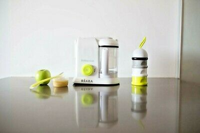 NEW BEABA Babycook 4 in 1 Baby Food Maker STEAM COOKER & BLENDER IN ONE steamer
