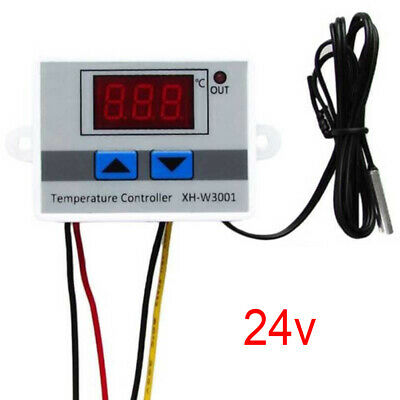 Digital Temperature Thermostat Controller Switch+Probe For Incubator Aquarium