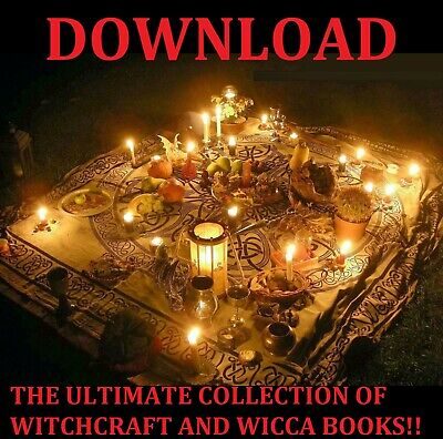 WITCHCRAFT AND WICCA Books Large Collection Pdf Download