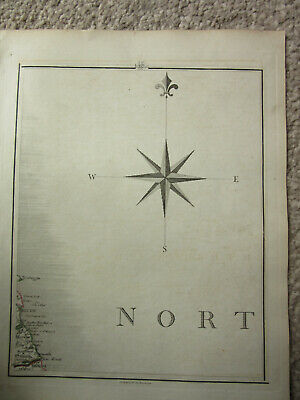 1794 -  John Cary original map 69 blyth north shields