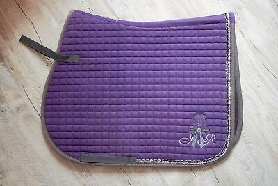 TAPIS VIOLET taille cheval IMPERIAL RIDING