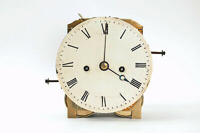 English double fusee bracket clock movement & dial @ 1815 Excellent