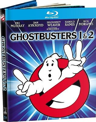 Ghostbusters / Ghostbusters 2 (Blu-ray Disc, 2014, 2-Disc Set, Mastered in 4K)