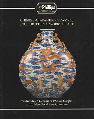 Asian: Chinese & Japanese Ceramics Snuff Bottles Works Of Art Auction Catalogue