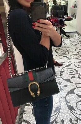 9cd62cd657e1 GUCCI Dionysus Leather Shoulder Bag - Sold Out Everywhere! - RRP £1,790
