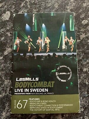 LES MILLS BODY Attack Cd /dvd/ Choreograohy Notes Release 79 - EUR