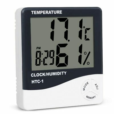 Digital Thermometer Hygrometer Electronic LCD Temperature Humidity Meter Weat…