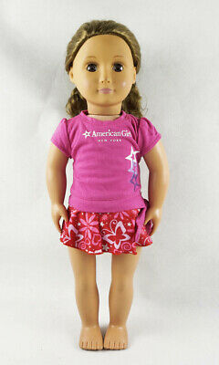 Fit For 18''American Girl Berry Swimsuit Star Tee Shirt Doll Clothes New York