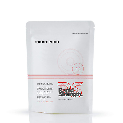Pure Dextrose Powder Glucose Carbohydrates Energy Muscle Quality Brand UK Made