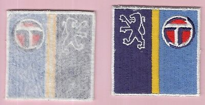 écusson badge patch brodé automobile moto pneu PEUGEOT TALBOT