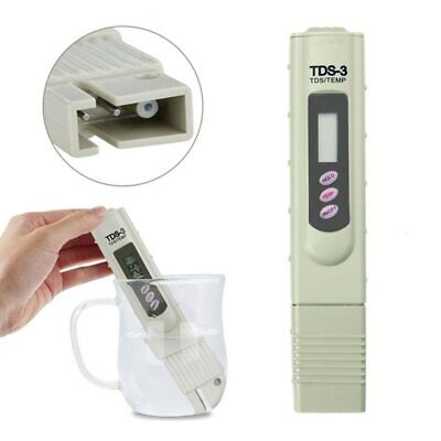 1PC Portable Digital TDS Meter Tester LCD Water Quality Testing Pen Purity Fi…