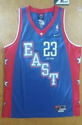 009c1f43766 NBA Authentic Nike Size Medium LeBron James Cleveland Cavaliers All-star  jersey
