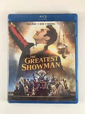 The Greatest Showman Blu-ray DVD And Digital Copy 2018