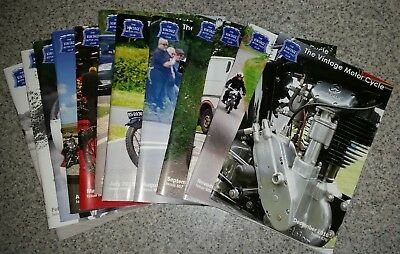 12 Vmcc The Vintage Motor Cycle Club January To December 2016 Monthly Magazines