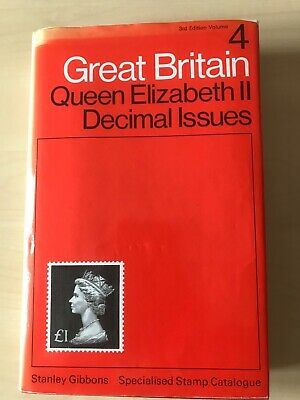 SG Specialised catalogue GB Hard Back QE11Decimal Issue 3rd Edition Volume 4