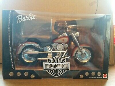 1999 Barbie Harley Davidson Fat Boy Motorcycle  Brand New Condition