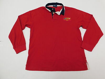 Boys Polo Ralph Lauren L (16/18) Regular  Polo Rugby Red 1967