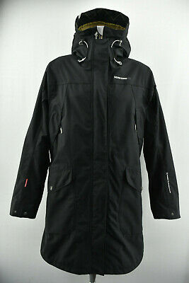 3592943e95a DIDRIKSONS 1913 Thelma Womens Coat Storm System Parka Jacket Waterproof  Size 44