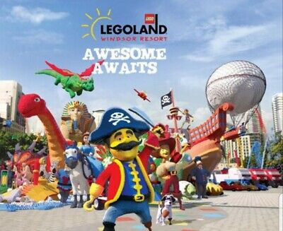 4 Legoland Windsor tickets valid on 29th Oct 2019