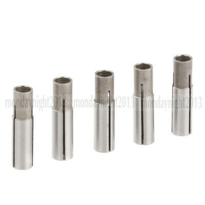 5pcs 6mm to 3.175mm Engraving bit CNC router tool Adapter High Precision