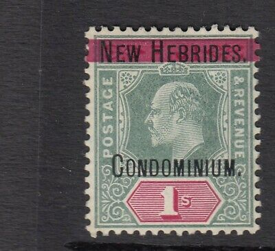 NEW HEBRIDES 1908 SG 9 - MOUNTED MINT Cat £140