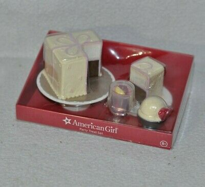 American Girl Cafe Bistro Boutique Exclusive Party Treat Set Cake Ice Cream 0519