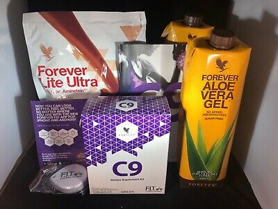 NEW Clean 9 -Forever Living C9  Chocolate WEIGHT LOSS KIT #548 FREE SHIPPING