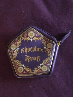 Harry Potter Chocolate Frog Bag Pouch Universal Studios Wizarding World RARE!