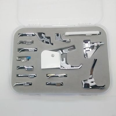 15PCS Sewing Machine Walking Foot Presser foot Set for Brother Singer Janome