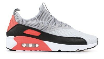 super popular 0e603 49434 NIKE AIR MAX 90 EZ Size 9 Pure Platinum Wolf Grey Black Infrared Men's Shoes