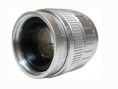 Fujian 35mm f/1.7 CCTV Cine Lens C For Micro M4/3 / MFT Mount BMPCC Camera